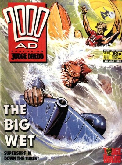 Cover for 2000 AD (Fleetway Publications, 1987 series) #567