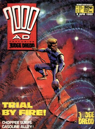 Cover for 2000 AD (Fleetway Publications, 1987 series) #569