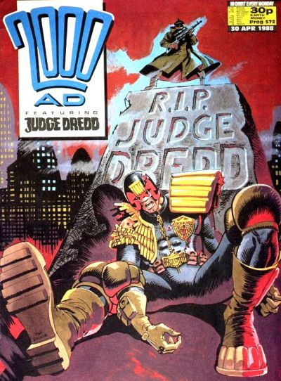 Cover for 2000 AD (Fleetway Publications, 1987 series) #572