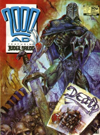 Cover for 2000 AD (Fleetway Publications, 1987 series) #577