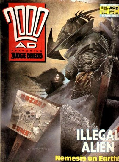 Cover for 2000 AD (Fleetway Publications, 1987 series) #586