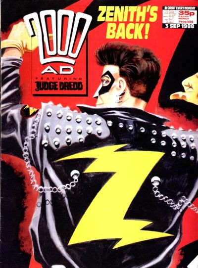 Cover for 2000 AD (Fleetway Publications, 1987 series) #590