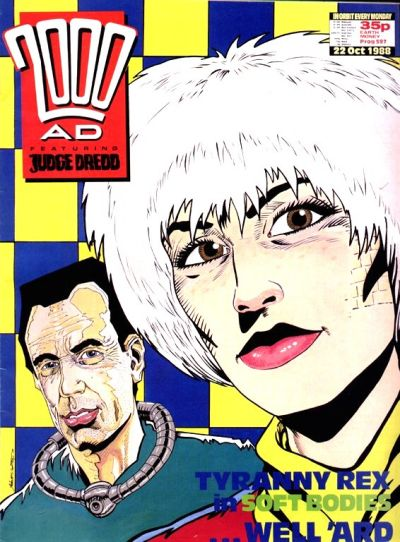 Cover for 2000 AD (Fleetway Publications, 1987 series) #597