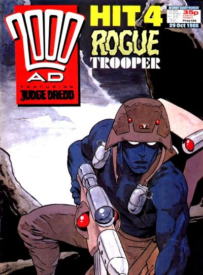 Cover for 2000 AD (Fleetway Publications, 1987 series) #598
