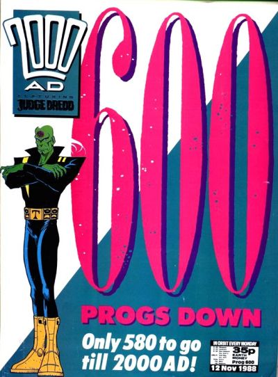 Cover for 2000 AD (Fleetway Publications, 1987 series) #600