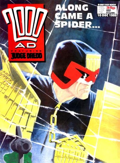 Cover for 2000 AD (Fleetway Publications, 1987 series) #604