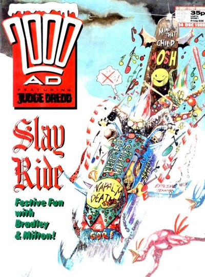 Cover for 2000 AD (Fleetway Publications, 1987 series) #606