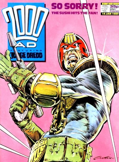 Cover for 2000 AD (Fleetway Publications, 1987 series) #609