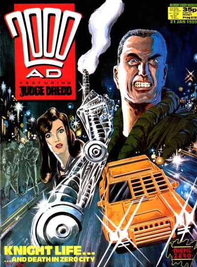Cover for 2000 AD (Fleetway Publications, 1987 series) #610