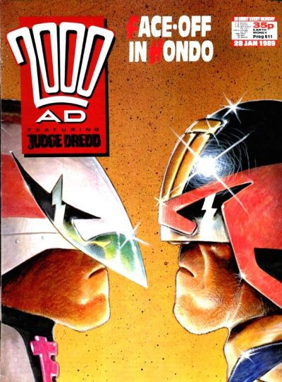 Cover for 2000 AD (Fleetway Publications, 1987 series) #611