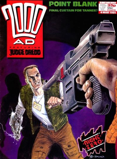 Cover for 2000 AD (Fleetway Publications, 1987 series) #616