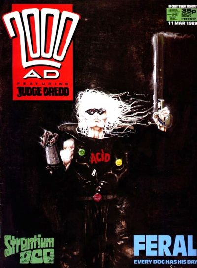 Cover for 2000 AD (Fleetway Publications, 1987 series) #617