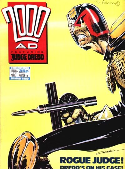 Cover for 2000 AD (Fleetway Publications, 1987 series) #618