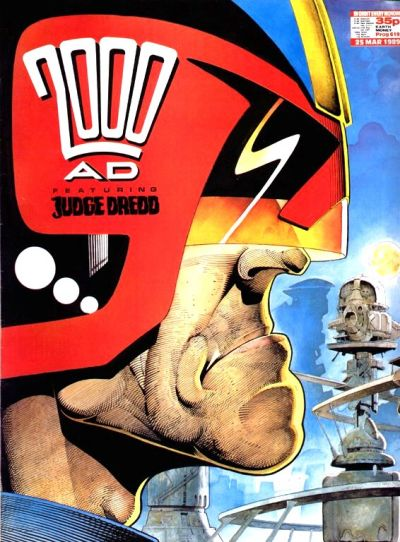 Cover for 2000 AD (Fleetway Publications, 1987 series) #619