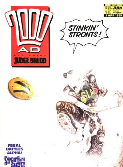 Cover for 2000 AD (Fleetway Publications, 1987 series) #620