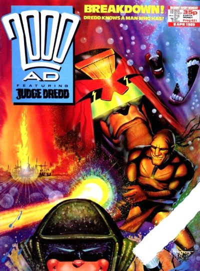 Cover for 2000 AD (Fleetway Publications, 1987 series) #621