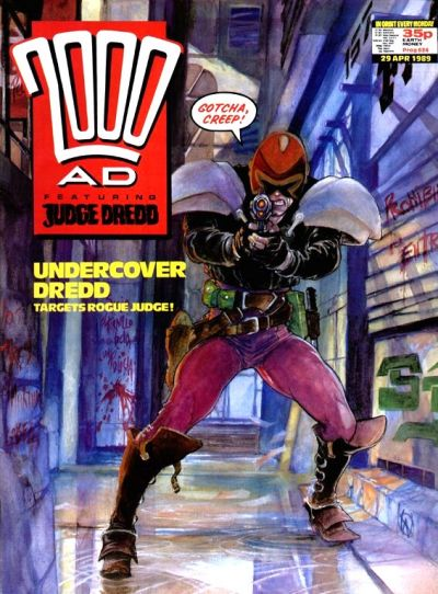 Cover for 2000 AD (Fleetway Publications, 1987 series) #624