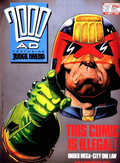 Cover for 2000 AD (Fleetway Publications, 1987 series) #625