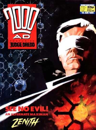 Cover for 2000 AD (Fleetway Publications, 1987 series) #630