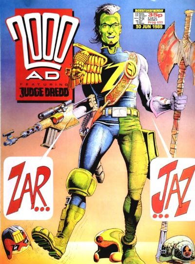 Cover for 2000 AD (Fleetway Publications, 1987 series) #633