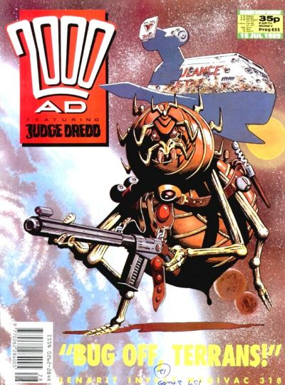 Cover for 2000 AD (Fleetway Publications, 1987 series) #635