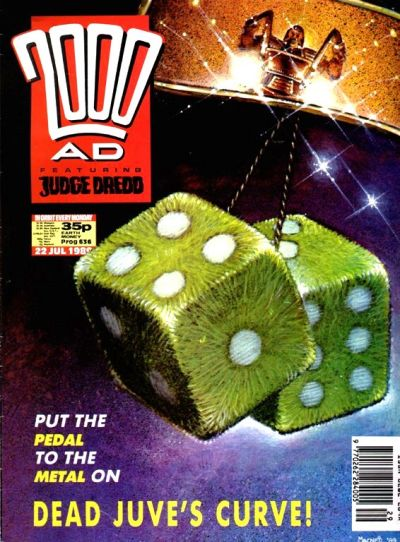 Cover for 2000 AD (Fleetway Publications, 1987 series) #636