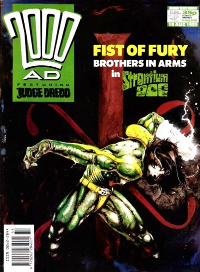 Cover for 2000 AD (Fleetway Publications, 1987 series) #640