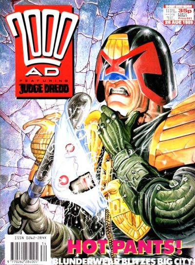 Cover for 2000 AD (Fleetway Publications, 1987 series) #641