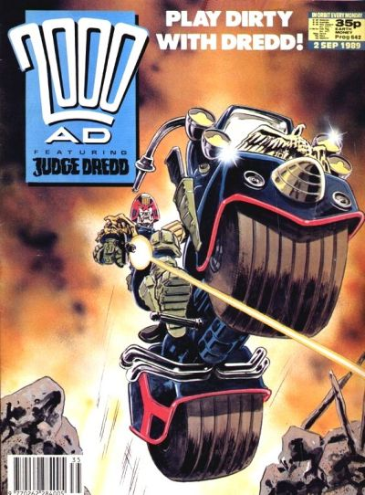 Cover for 2000 AD (Fleetway Publications, 1987 series) #642