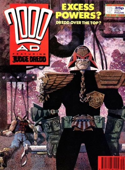 Cover for 2000 AD (Fleetway Publications, 1987 series) #646