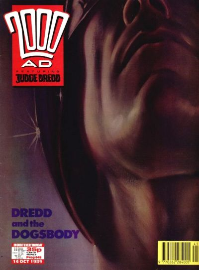Cover for 2000 AD (Fleetway Publications, 1987 series) #648