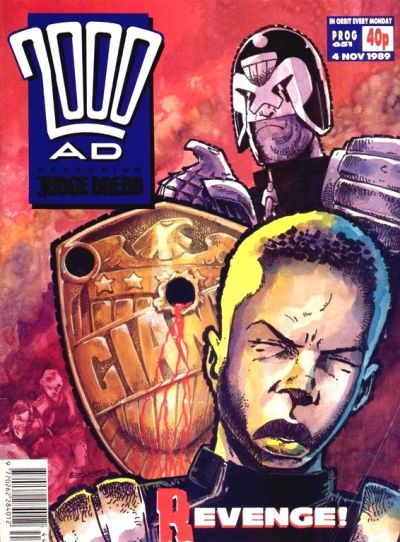Cover for 2000 AD (Fleetway Publications, 1987 series) #651