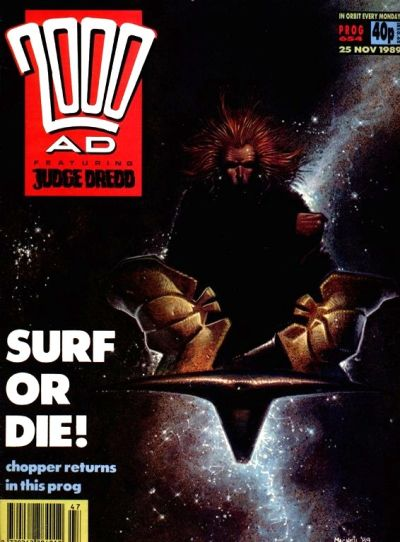 Cover for 2000 AD (Fleetway Publications, 1987 series) #654