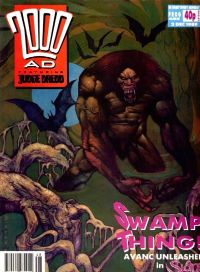 Cover for 2000 AD (Fleetway Publications, 1987 series) #655