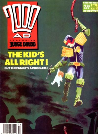 Cover for 2000 AD (Fleetway Publications, 1987 series) #659