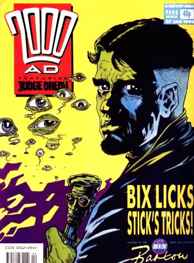 Cover for 2000 AD (Fleetway Publications, 1987 series) #663