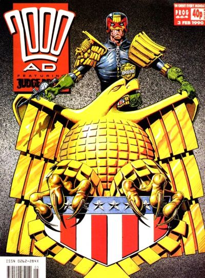 Cover for 2000 AD (Fleetway Publications, 1987 series) #664