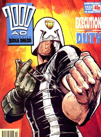 Cover for 2000 AD (Fleetway Publications, 1987 series) #669