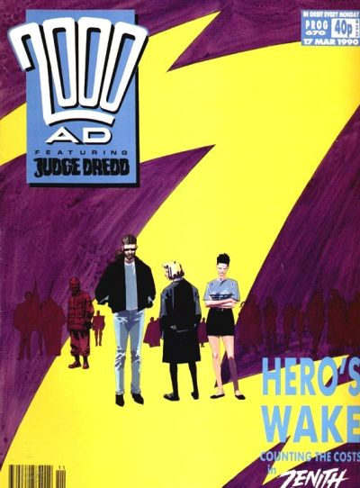 Cover for 2000 AD (Fleetway Publications, 1987 series) #670