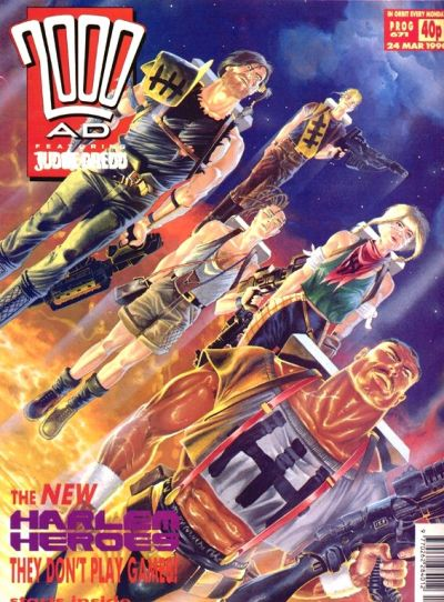 Cover for 2000 AD (Fleetway Publications, 1987 series) #671