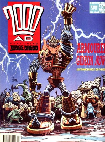 Cover for 2000 AD (Fleetway Publications, 1987 series) #672