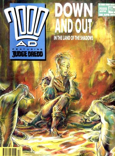 Cover for 2000 AD (Fleetway Publications, 1987 series) #676
