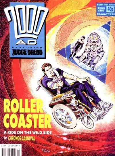 Cover for 2000 AD (Fleetway Publications, 1987 series) #680
