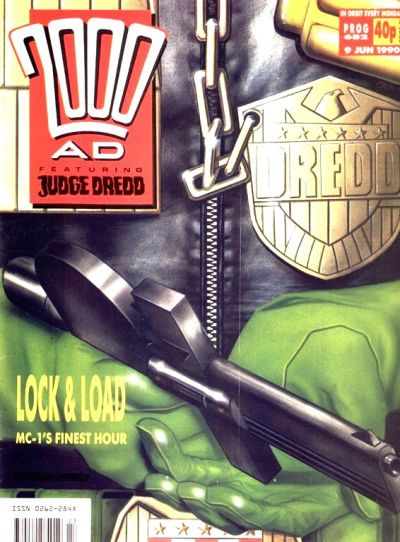 Cover for 2000 AD (Fleetway Publications, 1987 series) #682