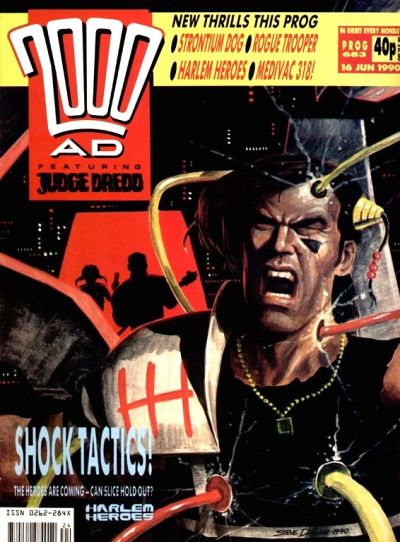 Cover for 2000 AD (Fleetway Publications, 1987 series) #683