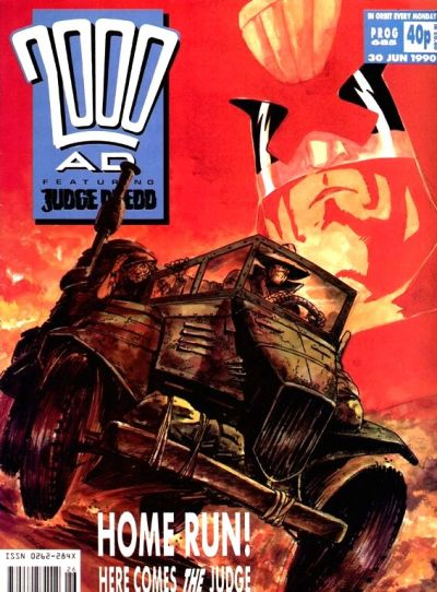 Cover for 2000 AD (Fleetway Publications, 1987 series) #685