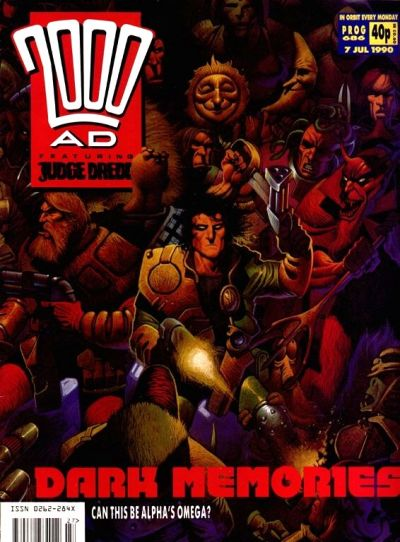 Cover for 2000 AD (Fleetway Publications, 1987 series) #686