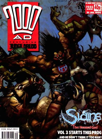 Cover for 2000 AD (Fleetway Publications, 1987 series) #688