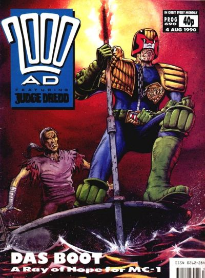 Cover for 2000 AD (Fleetway Publications, 1987 series) #690