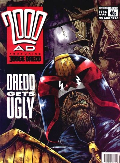 Cover for 2000 AD (Fleetway Publications, 1987 series) #693